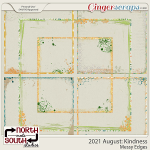 2021 August: Kindness Messy Edges by North Meets South Studios