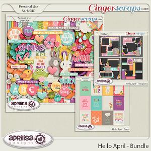 Hello April- Bundle