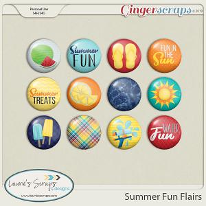 Summer Fun Flairs