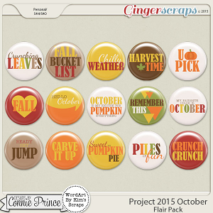 Project 2015 October - Flair Pack