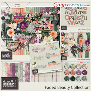 Faded Beauty Collection by Aimee Harrison