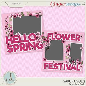 Sakura Template Pack Vol 2 by Ilonka's Designs
