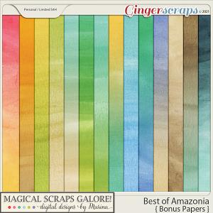 Best of Amazonia (bonus papers)
