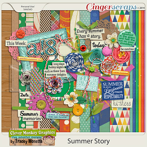Summer Story by Clever Monkey Graphics
