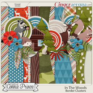 In The Woods - Border Clusters