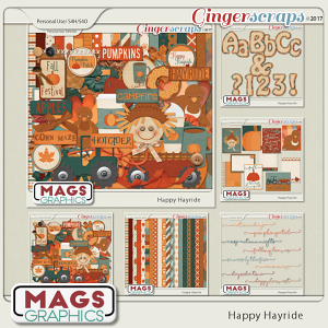 Happy Hayride BUNDLE by MagsGraphics