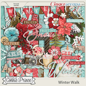 Winter Walk - Kit by Connie Prince