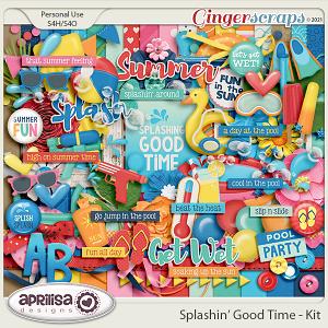 Splashin' Good Time - Kit by Aprilisa Designs