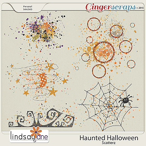 Haunted Halloween Scatterz by Lindsay Jane