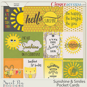 Sunshine and Smiles Pocket Cards