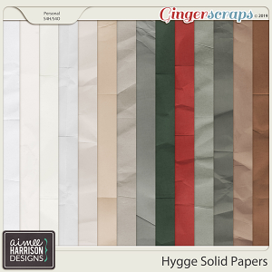 Hygge Solid Papers by Aimee Harrison