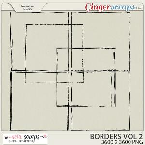 CU - Borders - VOL 2 by Neia Scraps