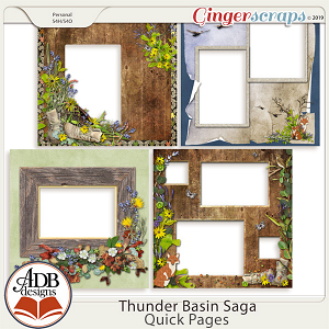 Thunder Basin Saga Quick Pages by ADB Designs
