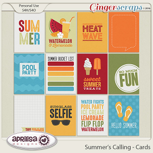 Summer's Calling - Cards  by Aprilisa Designs