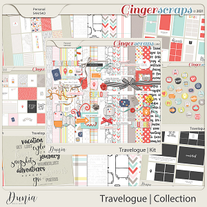 Travelogue Collection by Dunia Designs
