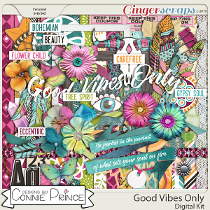 Good Vibes Only - Kit by Connie Prince