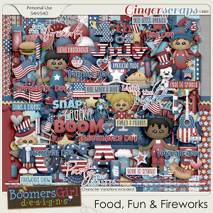 Food, Fun & Fireworks by BoomersGirl Designs