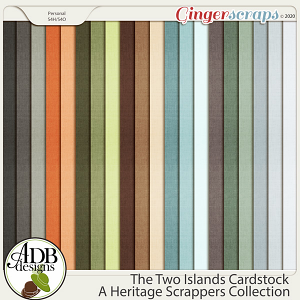 The Two Islands Cardstock Solids by ADB Designs