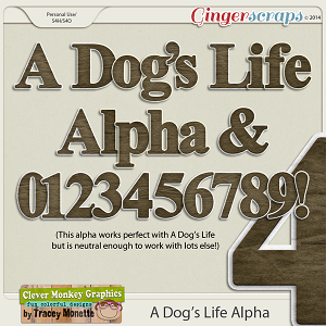 A Dog's Life Alpha by Clever Monkey Graphics