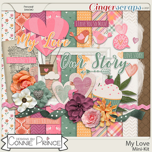 My Love - MiniKit by Connie Prince