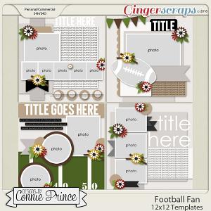 Football Fan - 12x12 Temps (CU Ok)