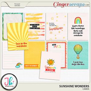 Sunshine Wonders Cards by JB Studio