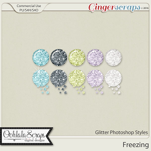 Freezing CU Glitter Photoshop Styles