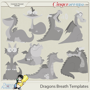 Doodles By Americo: Dragons Breath Templates