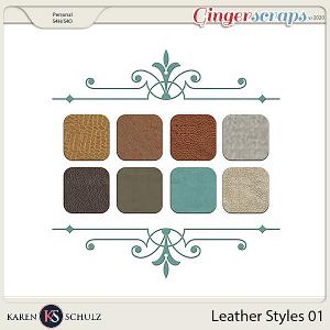 Leather Styles 01 by Karen Schulz