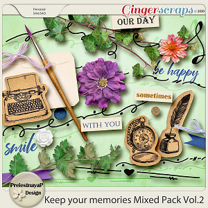 Keep your memories Mixed Pack Vol.2