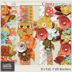 It's Fall Y'all Borders by Aimee Harrison