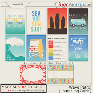 Wave Patrol (journaling cards)