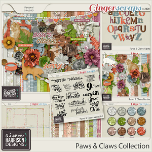 Paws and Claws Collection by Aimee Harrison