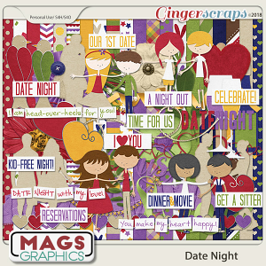 Date Night KIT by MagsGraphics