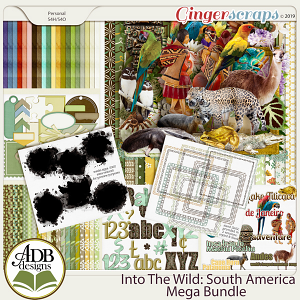 Into The Wild South America Bundle by ADB Designs