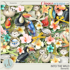 Into The Wild Elements by Ilonka's Designs