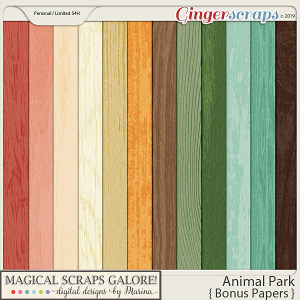 Animal Park (bonus papers)