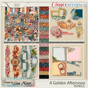 A Golden Afternoon BUNDLE from Designs by Lisa Minor