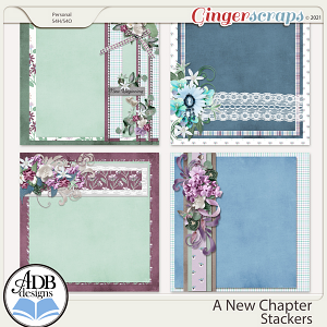 A New Chapter Stackers by ADB Designs