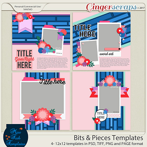 Bits and Pieces Templates