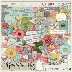 GingerBread Ladies Monthly Mix: The Little Things