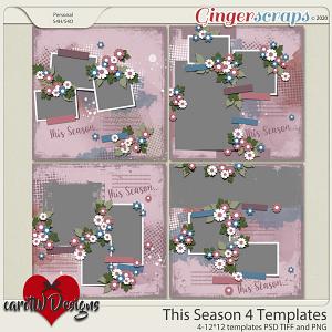 This Season 4 Templates by CarolW Designs