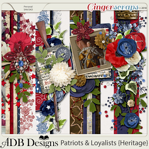 Patriots And Loyalists Border Clusters by ADB Designs