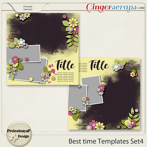 Best time Templates Set4