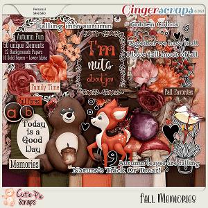 Fall Memories Page Kit