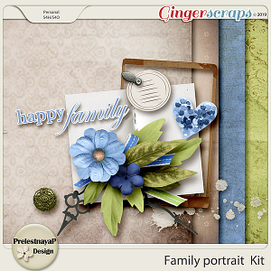 Family portrait Mini-Kit