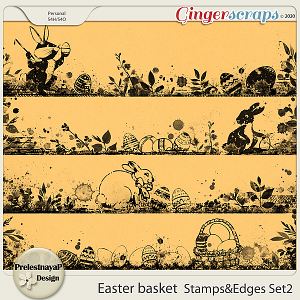 Easter basket Stamps & Edges Set2