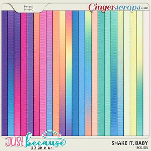 Shake It Baby Solids by JB Studio