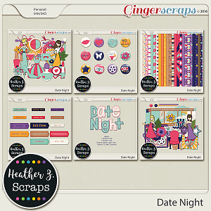 Date Night BUNDLE by Heather Z Scraps