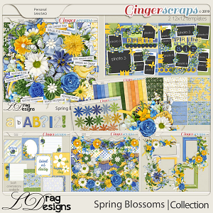 Spring Blossoms: The Collection by LDragDesigns